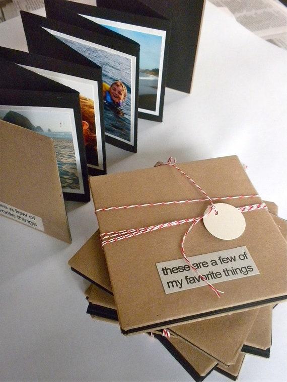 Items similar to 4 x 4 concertina photo book on etsy - Como hacer un album de fotos ...