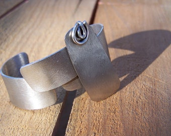 Metal Shapes Stainless Steel Bracelet Cuff
