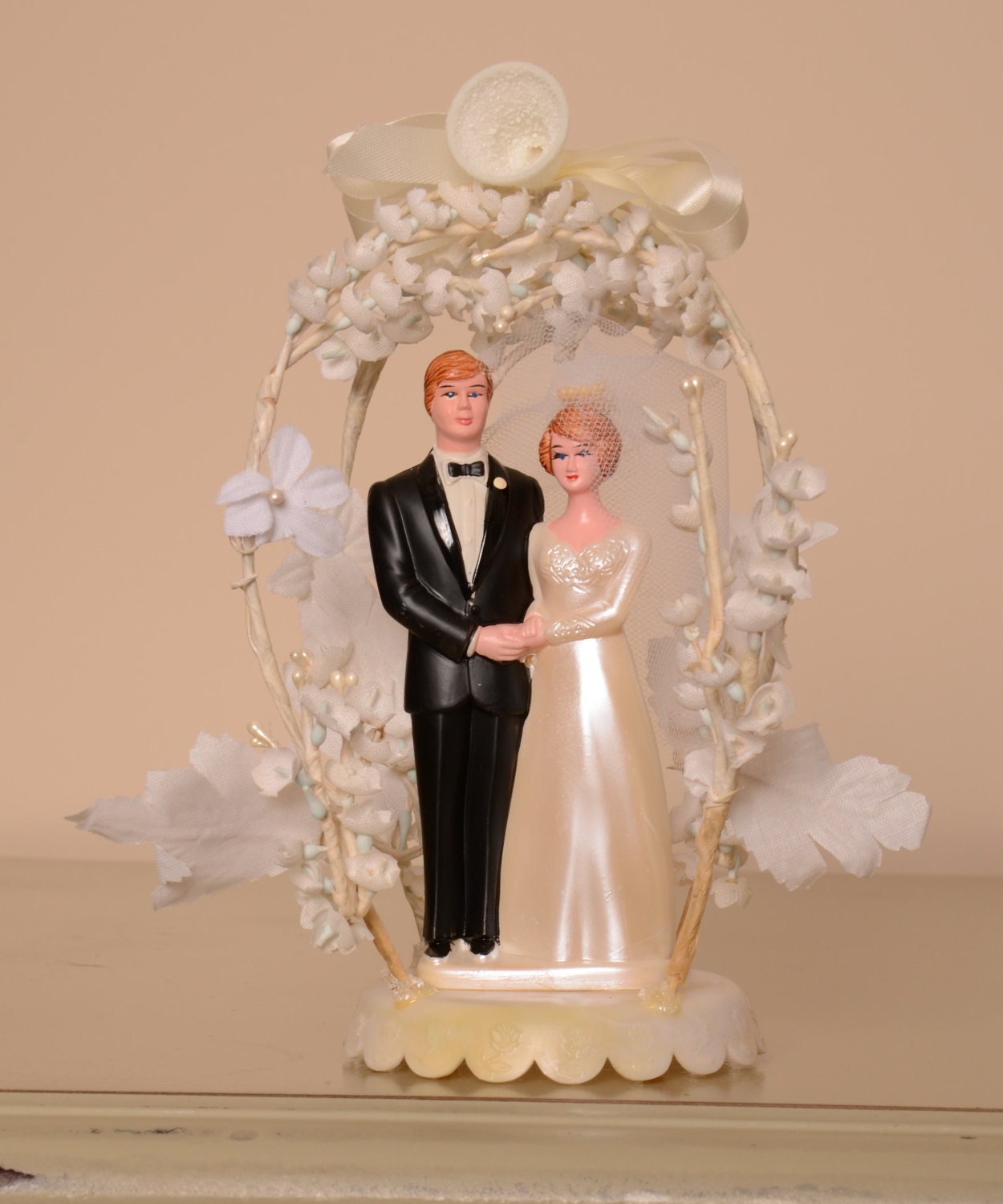 retro wedding cake toppers vintage amp groom wedding cake topper 19202