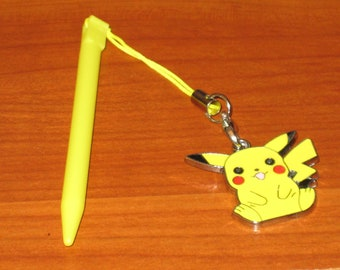 Nintendo 3DS Stylus With Pokemon Pikachu Charm Attached