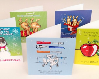 Holiday Greeting Card Assortment (Set1) 25 Cards