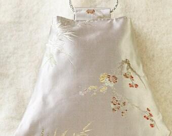 Art Deco-style Chinese silk bag