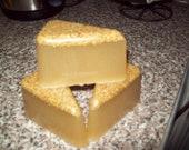Sls free palm free wedge soap with Organic Honey & Organic Pinhead Oatmeal