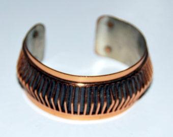 Bracelet, Vintage, Renoir, Copper