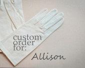 Custom CIAO SPOSA creation for: Allison