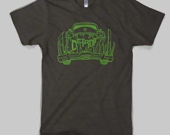 Detroit Cargod Lime on Chocolate American Apparel