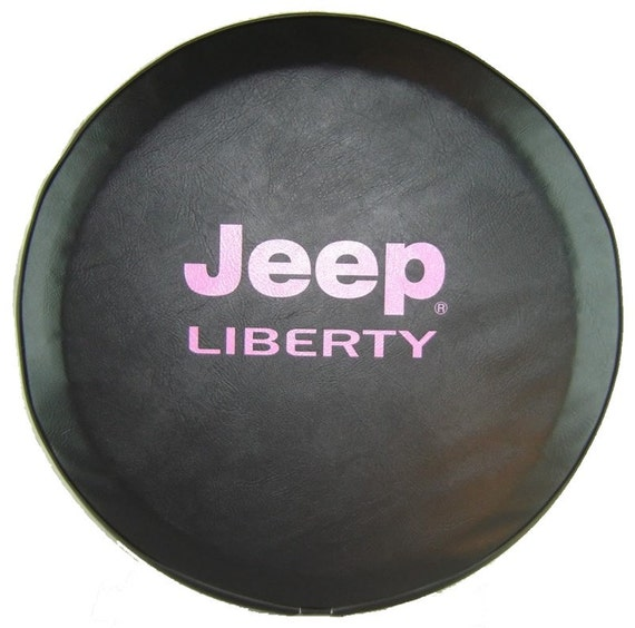 abc series jeep liberty tire cover hot pink logo. Cars Review. Best American Auto & Cars Review