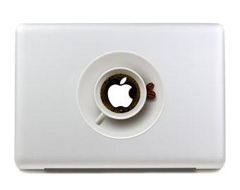 MacBook Decal / MacBook Sticker / Laptop Decal / Laptop Sticker / MacBook Air Pro Retina  11 12 13 15 17 Coffee Cup