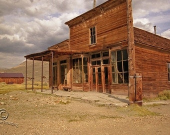 Bodie Ghost Town Photography, Landscape Photography, Nature Photography, Ghost Town, California State Park, California, Structures 1800