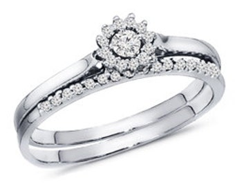 0.25ct.The Daisy Diamond Ring