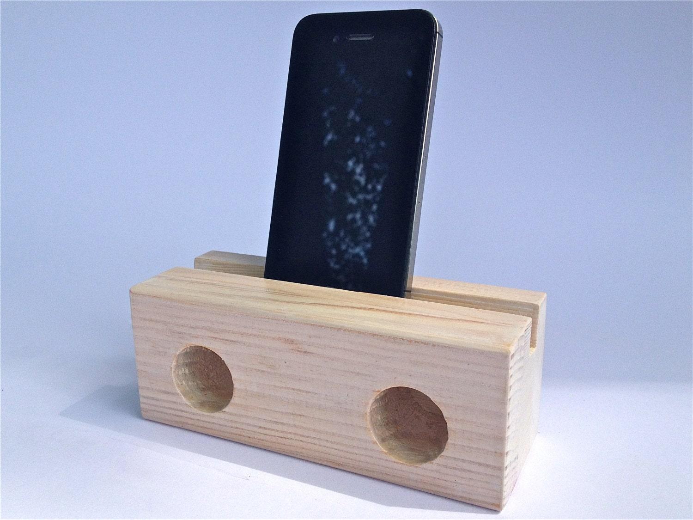 Ohrringe Aus Holz FUr Männer ~ Lautsprecher aus Holz für iPhone von MoebelDenker auf Etsy
