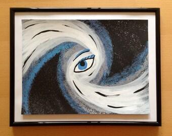 Blue Cosmic Eye