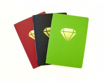 Golden notebook diamond