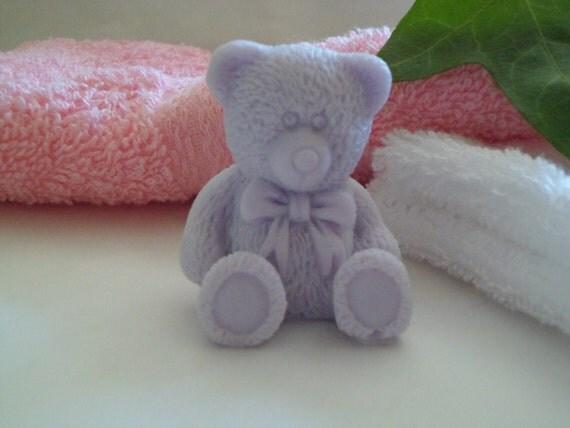 vegan teddy bear soap from themysticsoapcompany on Etsy