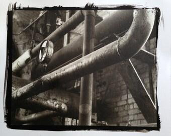 """Platinum/ Palladium Print  - """"Infinite Machines"""""""