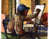 Artist at Work Charles Pa...