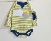 Sunny Day - Long Sleeved Baby Bodysuit