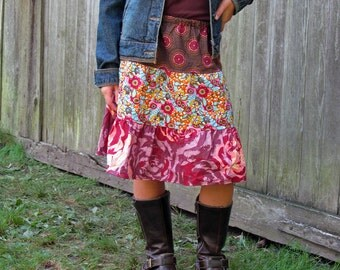 Girls toddler boutique Skirts . . .  Innocent Crush flouncy skirt 2t-9 Youth