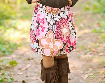 Toddler Girls  Boutique Skirts . . .Pink Meadow Corduroy skirt  sizes 2t-9 Youth