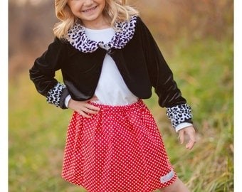 toddler girls  tweens Christmas Holiday skirts Boutique Rosie Dots  2 Toddler - 12 Youth By K Bella Bambino