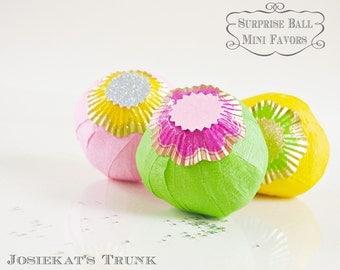 Suprise Ball - Party Favor Retro - Mini Surprise Ball Party Favor Vintage Novelty Brite FUN