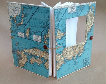 Japan Handmade Versatile Travel Journal for Art, Photos and Writing