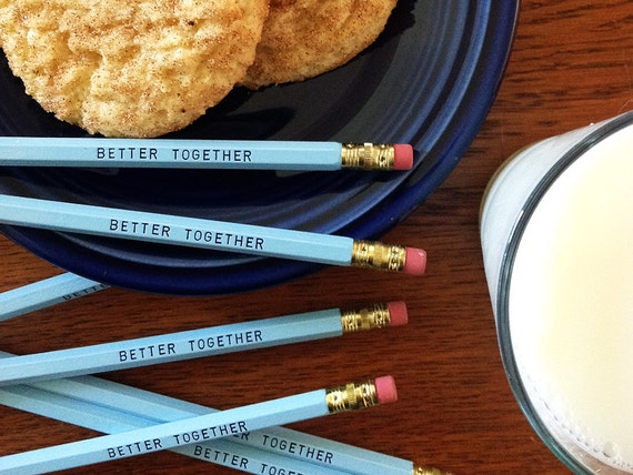 Better Together Pencil 6 Pack - Sweet and Fun Gift