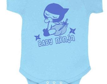 Baby ninja onesie 6M, 12M