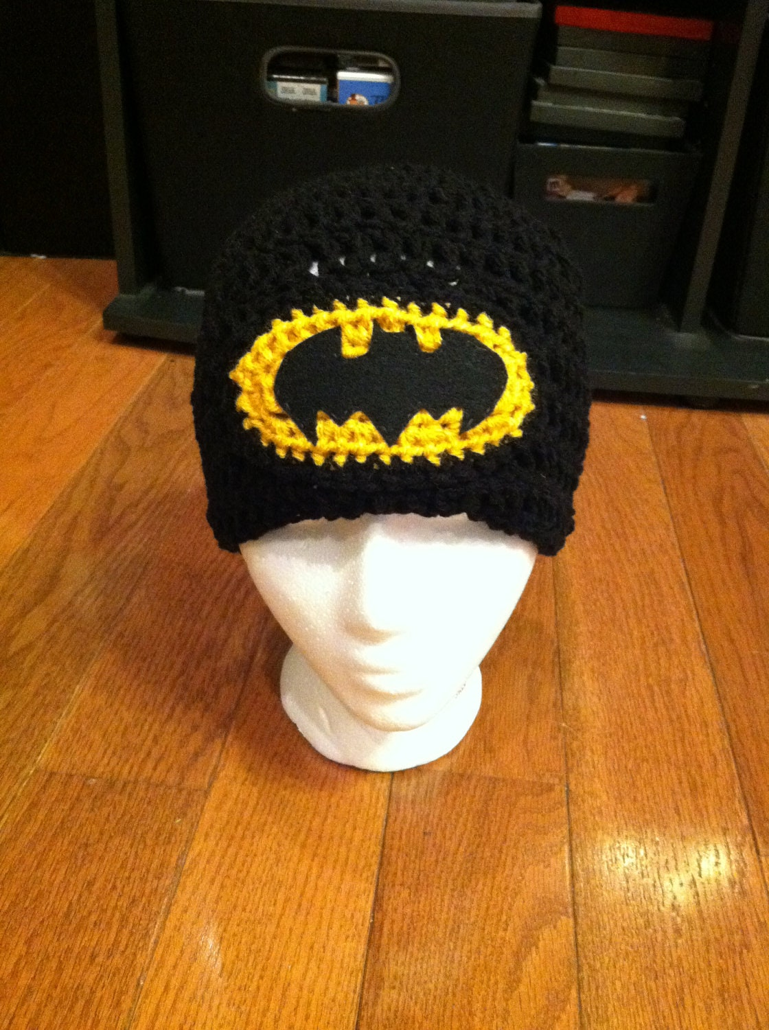 Batman Beanie Batman Hat Batman Costume Batman-photo prop