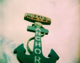Anchor Motel Holga Lomography Photograph