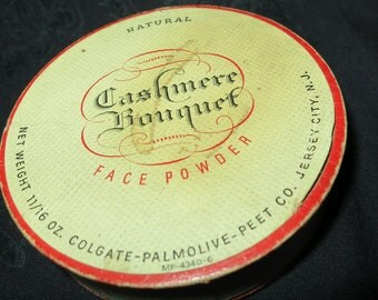 Vintage Cashmere Bouquet Face Powder