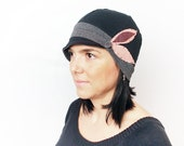 Sun hat Womens Hat Stylish Hat Women Accessories Summer Hat Winter Hat For Women Gift for her Women Black Hat fullcover Hat Women Cotton Hat