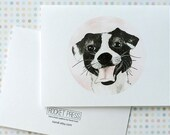 Happy Dog Card (Set of 4 with envelopes)