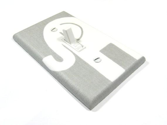 Gray Elephant Light Switch Cover Grey Elephant Nursery Decor Elephant Decor Switchplate Switch Plate