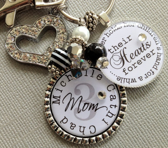 Mom Gift, Grandma jewelry, PERSONALIZED gift, A Mother Holds Her Children's Hand, Christmas gift, Mother QUOTE, Mom jewelry Grandma birthday