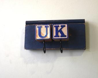 UK Blue Block Rack Kentucky