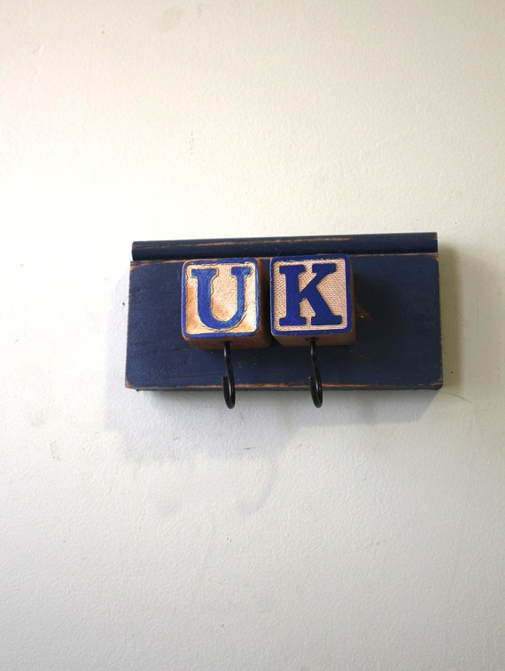 UK Blue Block Rack Kentucky