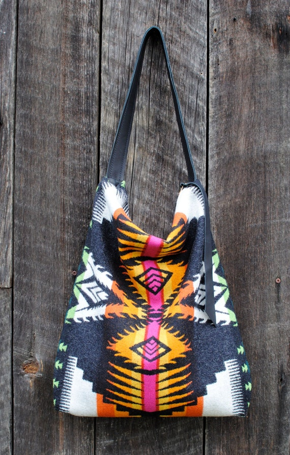 Fire Within Pendleton Wool Tote