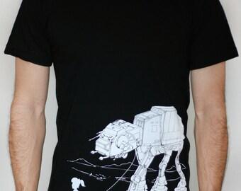 My Star Wars AT-AT Pet - American Apparel Mens tshirt - 2XL, 3XL ( Star Wars shirt )