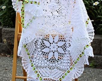 CROCHET PATTERN Silverlace & Tropicana Blankets Ebook Crochet Pattern in PDF
