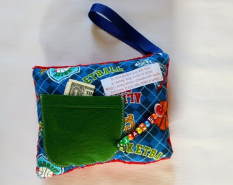 Sports Personalized Tooth Fairy Pillow