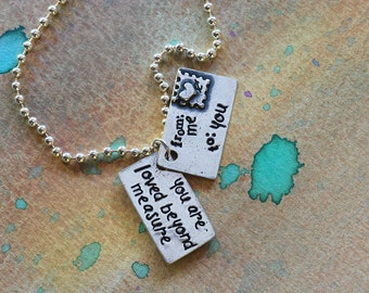 Love Letter Necklace-You are loved beyond measure