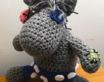 PATTERN - Smarty Pants Crocheted MLP Amigurumi Plush