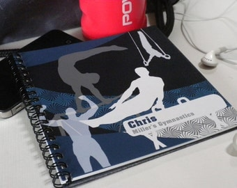 Personalized Boys' Gymnastics Scorebook