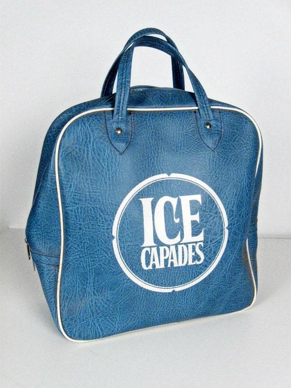 vintage Ice Capades carry on bag