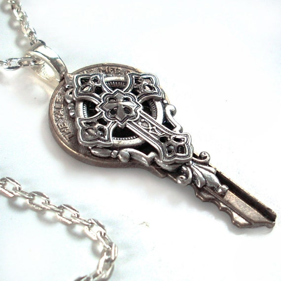 Key to the Kingdom - Celtic Cross Pendant