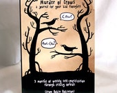 Murder of Crows journal for your bad thoughts
