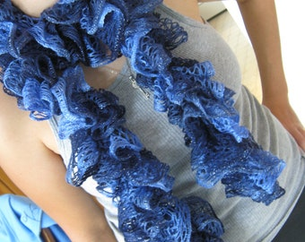 Ruffled Potato Chip Scarf