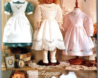 Vogue 9984  Teresa Layman Old Fashioned Doll Clothes Pattern for 18 Inch Dolls Sewing Pattern Uncut