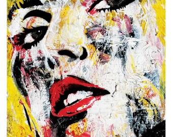 Blondie (Deborah Harry) - Heart of Glass - 12 x 18 High Quality Art Print